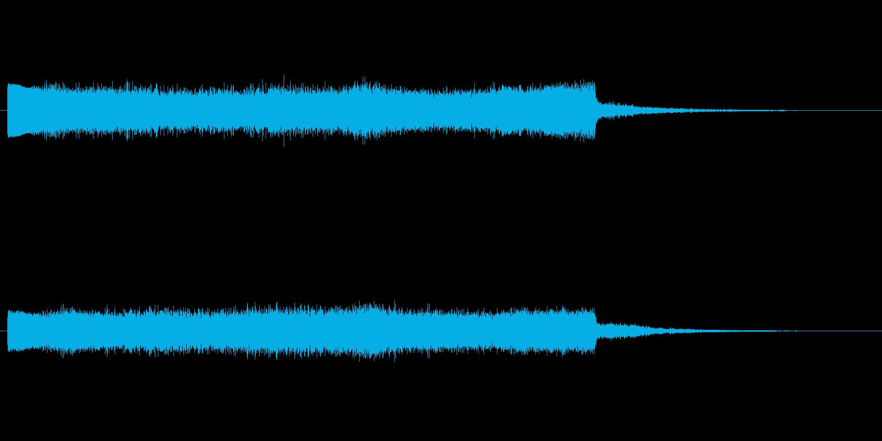 上昇 ノイズライズフォール03の再生済みの波形