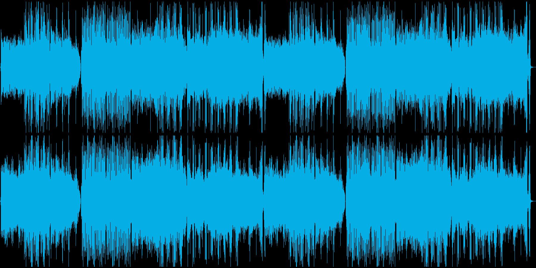 かっこいいオリエンタル曲の再生済みの波形