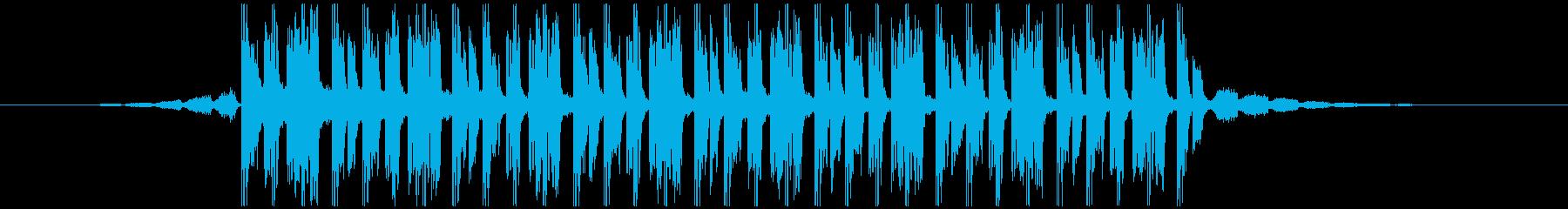 ラグジュアリーファッション(26秒)の再生済みの波形