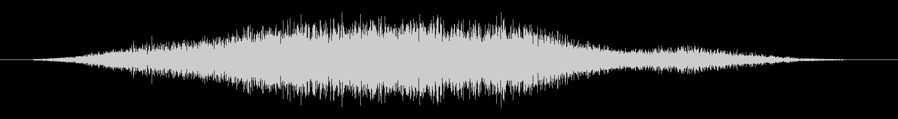 薄いスクリーチングフーシュの未再生の波形