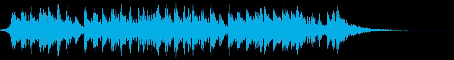 トレーラー・ヒップホップの再生済みの波形