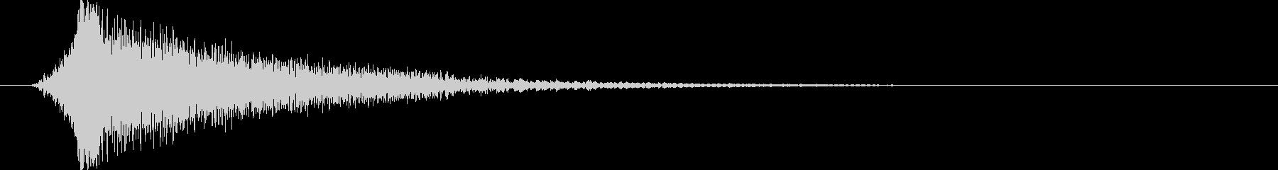 映画告知音134 ドーンの未再生の波形