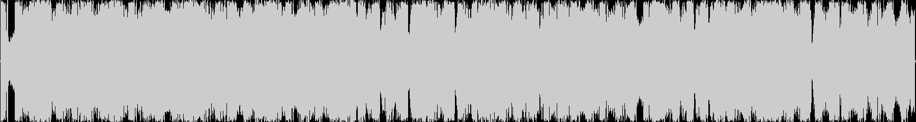 攻撃的なEDMの未再生の波形