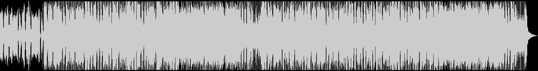 カントリーロック風のギターインストの未再生の波形