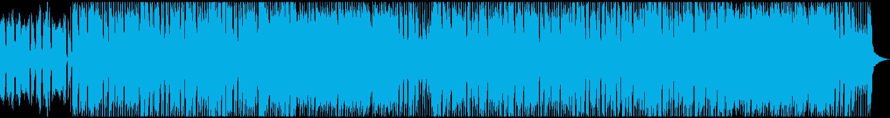 カントリーロック風のギターインストの再生済みの波形