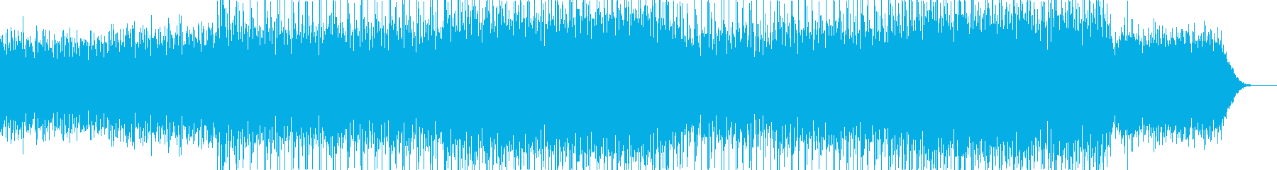 オープニング企業VPイベント-06の再生済みの波形