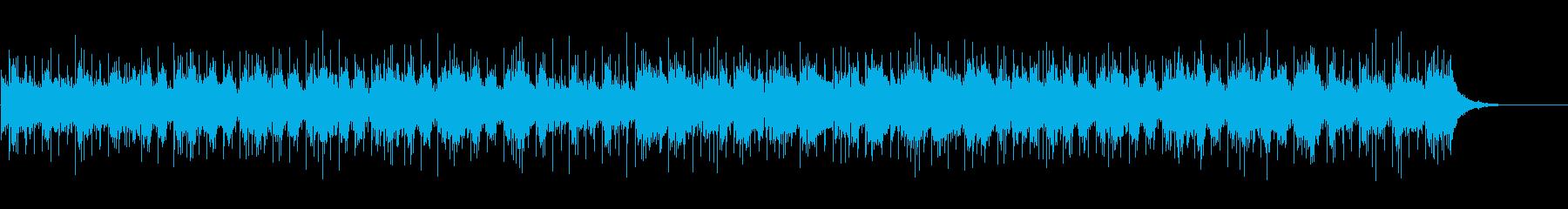 軽快でまどろんだ感じのワウギターポップスの再生済みの波形