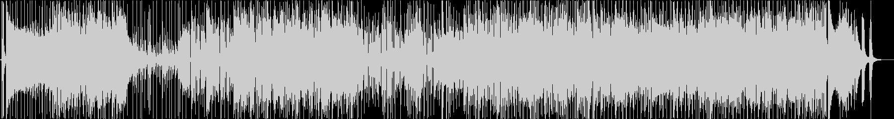 ディスコやファンクの様なノリの未再生の波形
