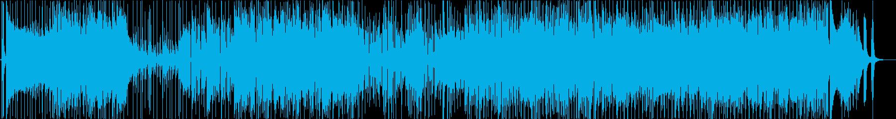 ディスコやファンクの様なノリの再生済みの波形