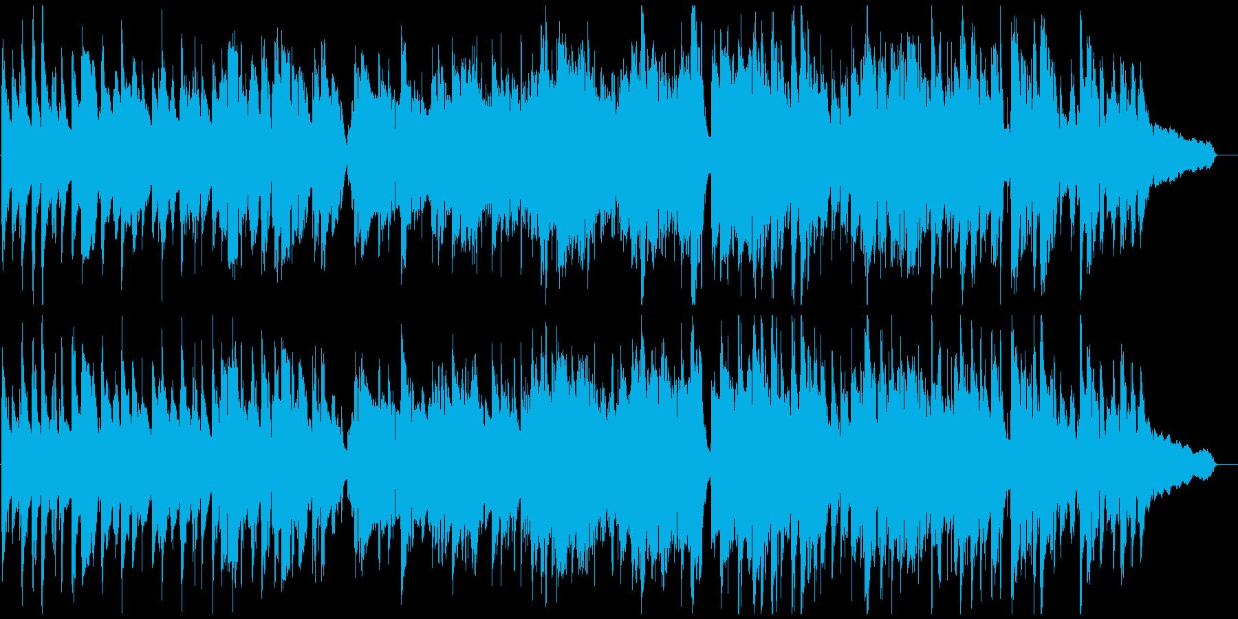 リラックスした素敵でスローなジャズワルツの再生済みの波形