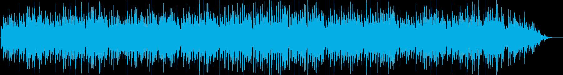 ジャジーで少し切ないピアノインストの再生済みの波形