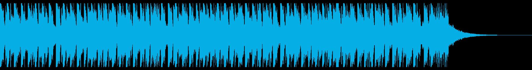 ダンスミュージック(ショート3)の再生済みの波形