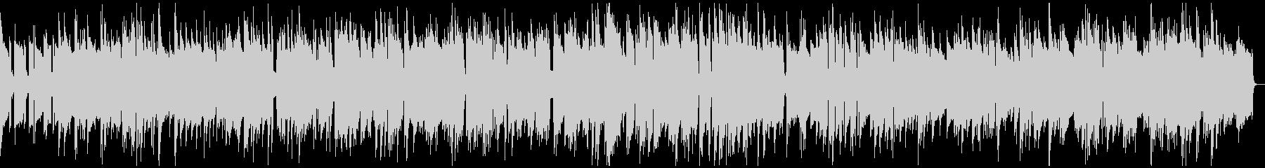 ゆったりとしたピアノジャズバラードの未再生の波形
