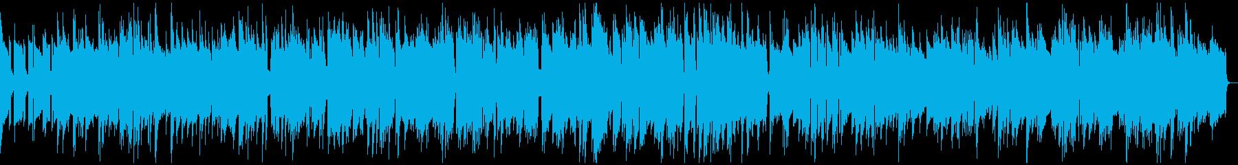 ゆったりとしたピアノジャズバラードの再生済みの波形