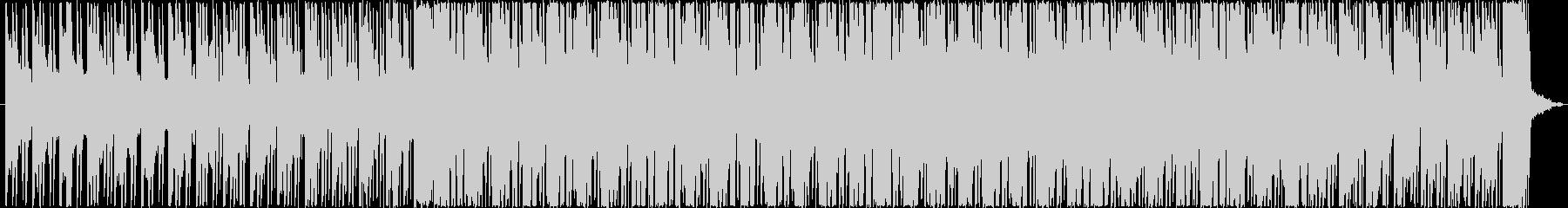 リズミックでコミカルな雰囲気のBGMの未再生の波形