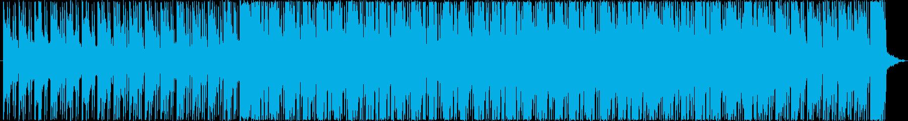 リズミックでコミカルな雰囲気のBGMの再生済みの波形