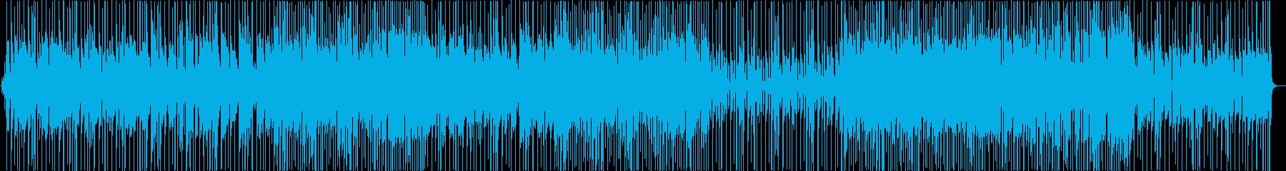 ほのぼのした雰囲気のギターインストの再生済みの波形