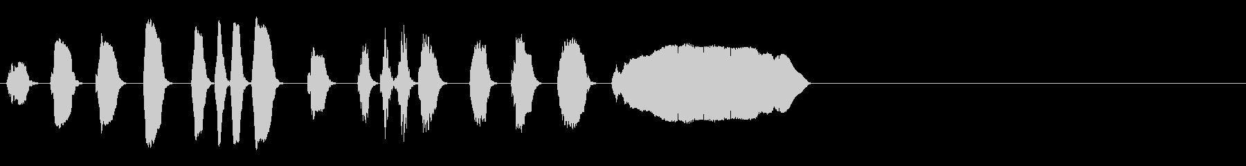 ミュートトランペット-競馬。の未再生の波形