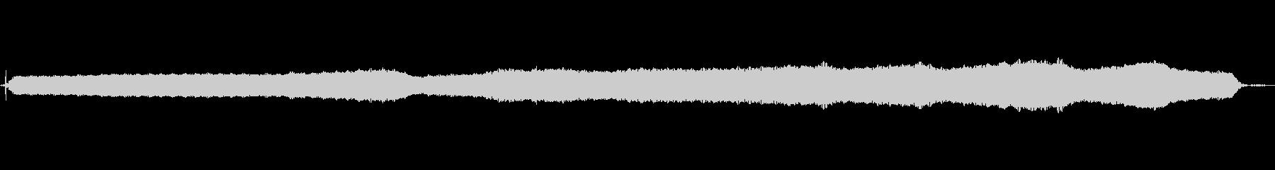 低速で動作するマッサージデバイスの振動の未再生の波形