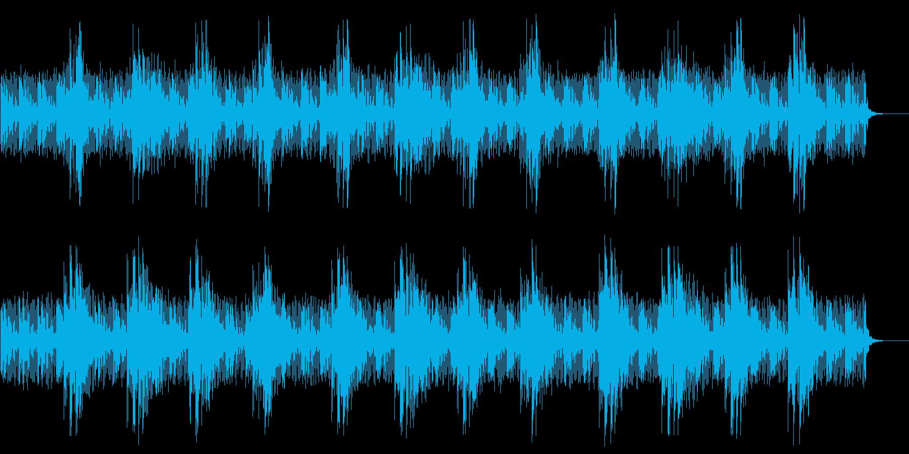 柔らかいシンセとサンプル、温かい弦...の再生済みの波形