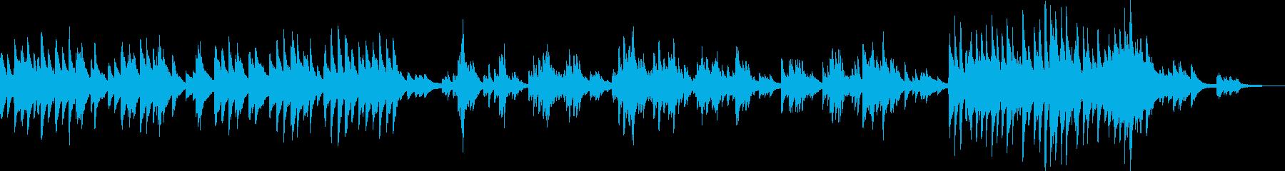 決戦前夜(ピアノ・力強い・かっこいい)の再生済みの波形