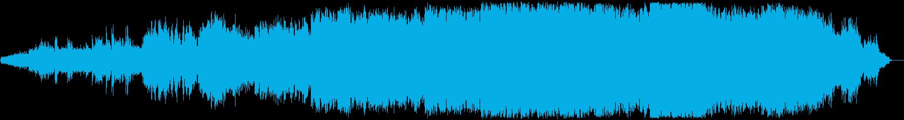 感動的なクラシカルでワールドなサウンドの再生済みの波形