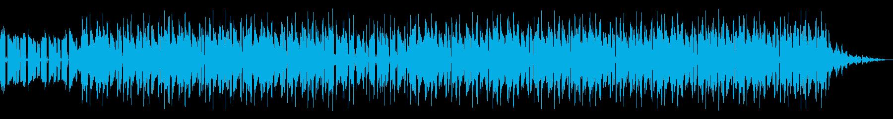 Chillhop ネオソウルギターの再生済みの波形