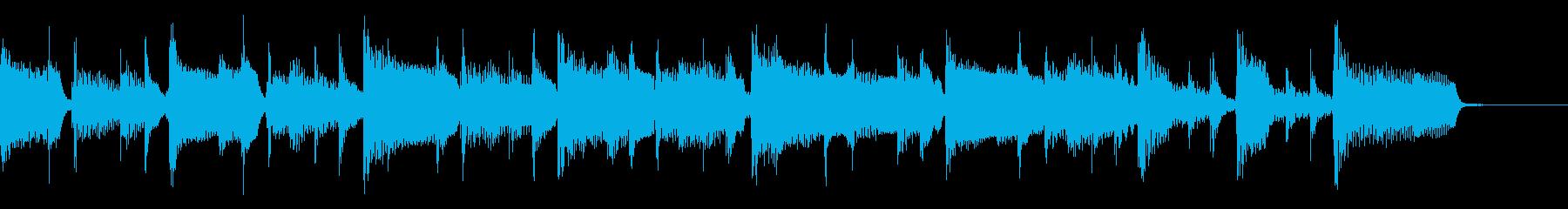 2つ、ミディアムテンポ、リズムギタ...の再生済みの波形