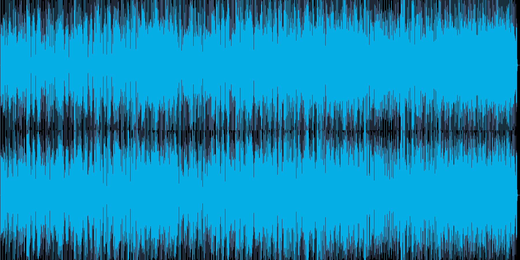 スピード感があってお洒落なディスコの再生済みの波形