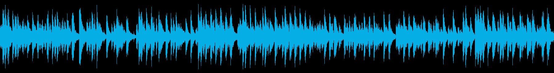 爽やかな雰囲気のポップス(ループ仕様)の再生済みの波形