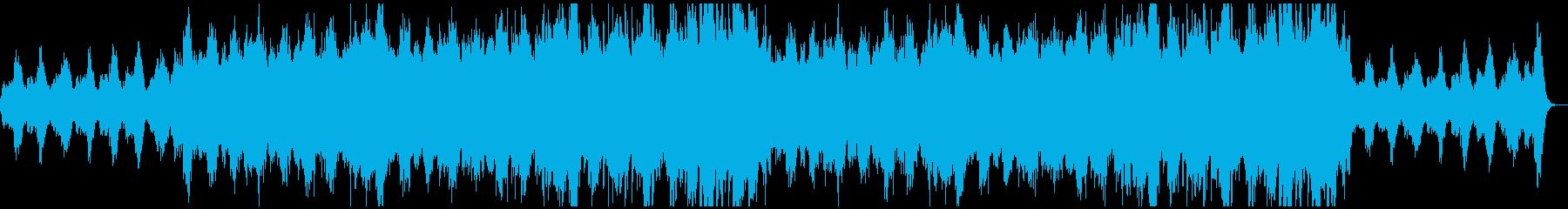 幻想的で悲しいファンタジーオーケストラの再生済みの波形