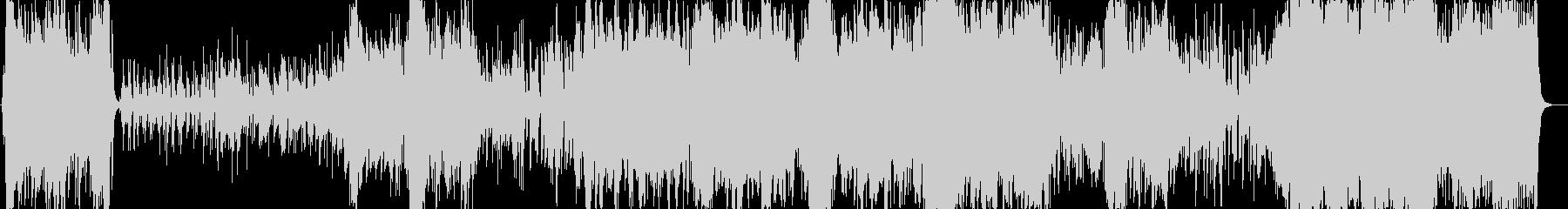 オーケストラ編成のタンゴの未再生の波形