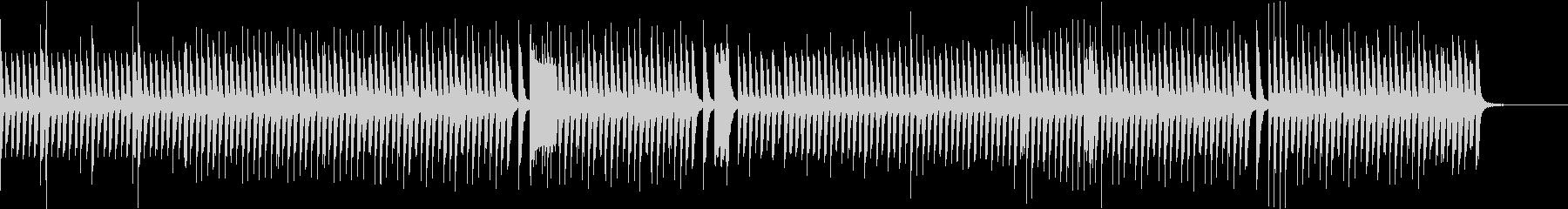 Eテレ系ゆったりカワイイほのぼのピアノ曲の未再生の波形
