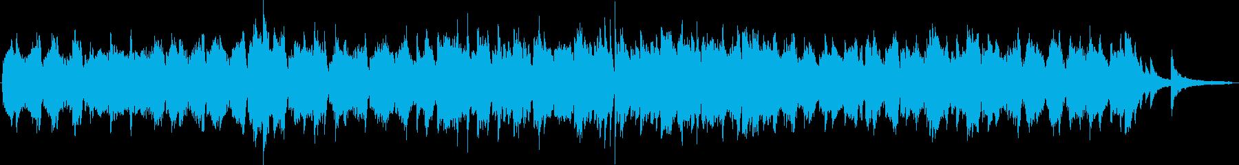 チェロ・ピアノの切ない曲の再生済みの波形