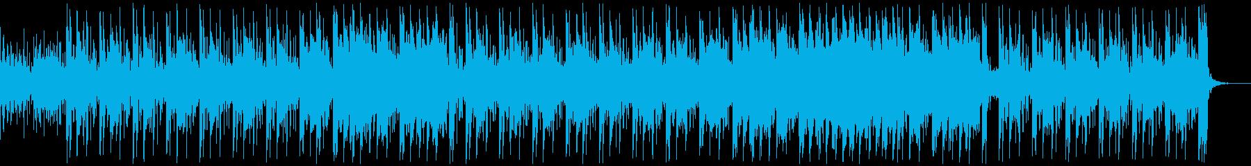 ポップ テクノ アンビエント ほの...の再生済みの波形
