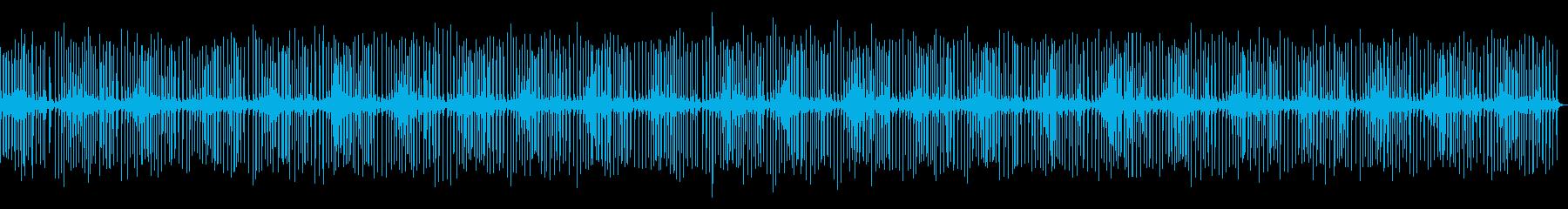 小さなラチェッチングクランク:連続...の再生済みの波形