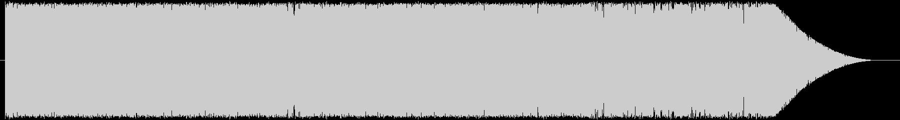 キラキラな明るいドラムンベース系BGMの未再生の波形