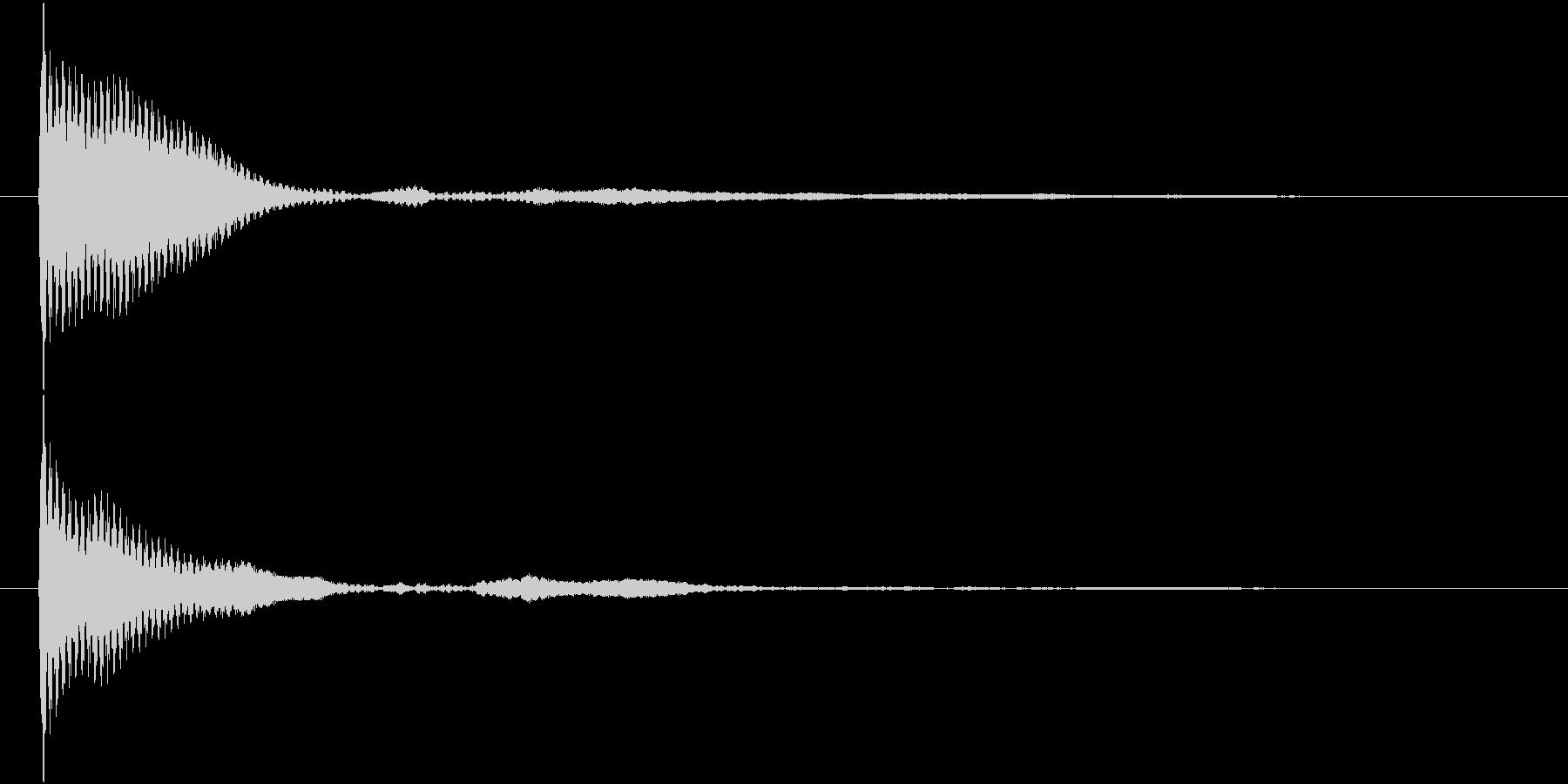 ポン カーソル音 タップ音 G#-09_の未再生の波形