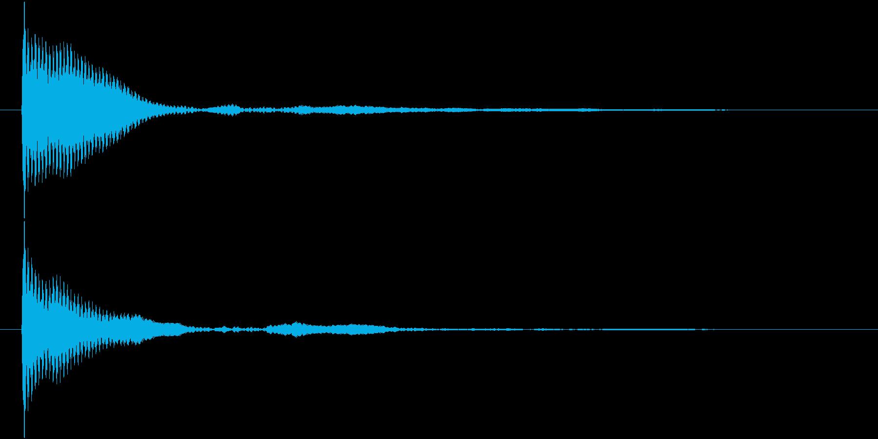 ポン カーソル音 タップ音 G#-09_の再生済みの波形