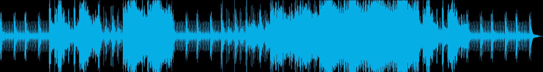 二胡の音色が神秘的で幻想的な美しい曲の再生済みの波形