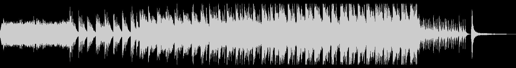 尺八とピアノの壮大で切ない和風曲の未再生の波形