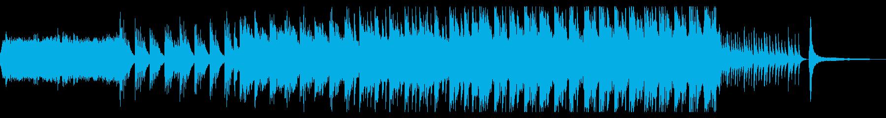 尺八とピアノの壮大で切ない和風曲の再生済みの波形