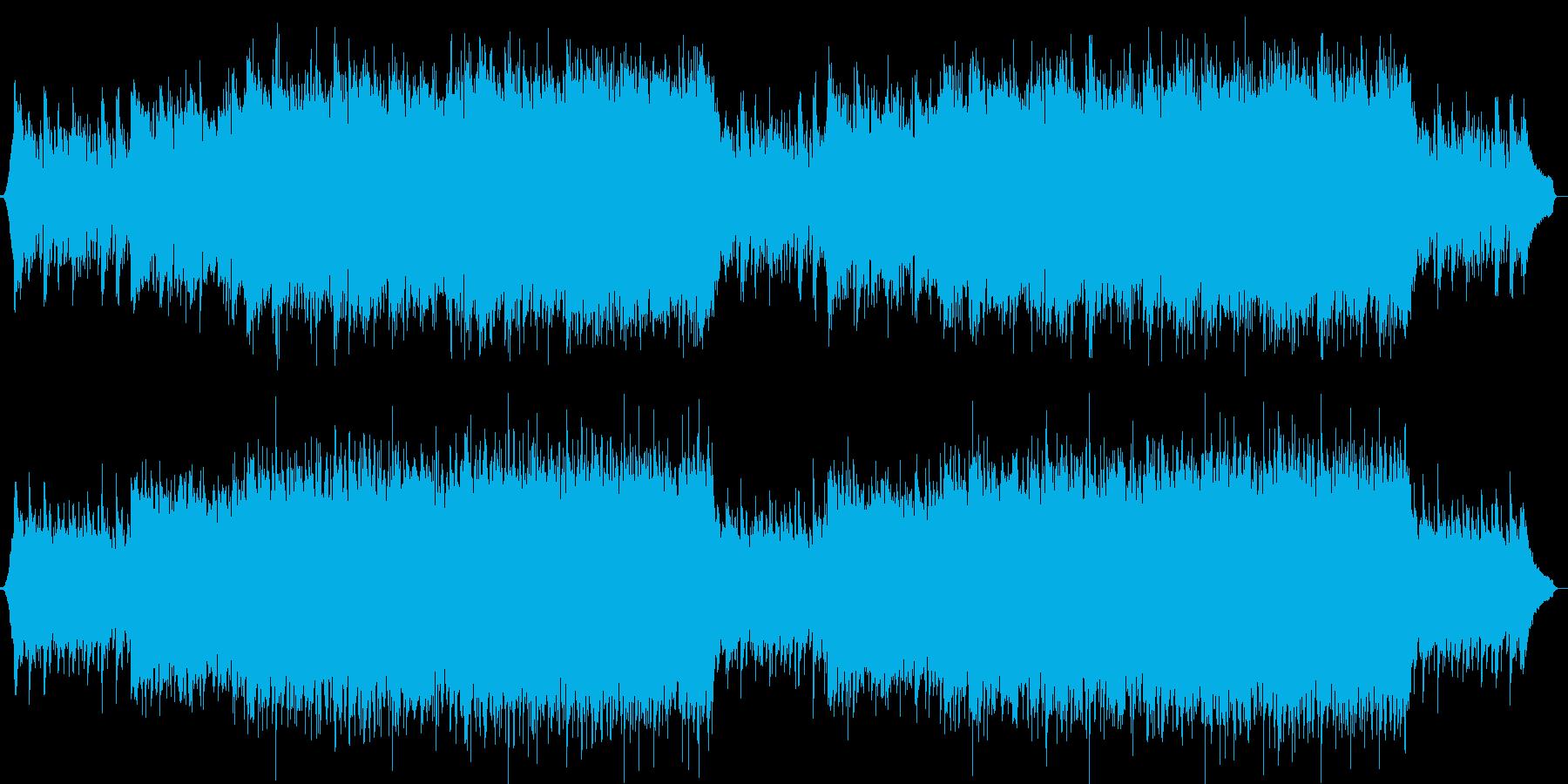 企業VPや映像72、オーケストラ、壮大aの再生済みの波形