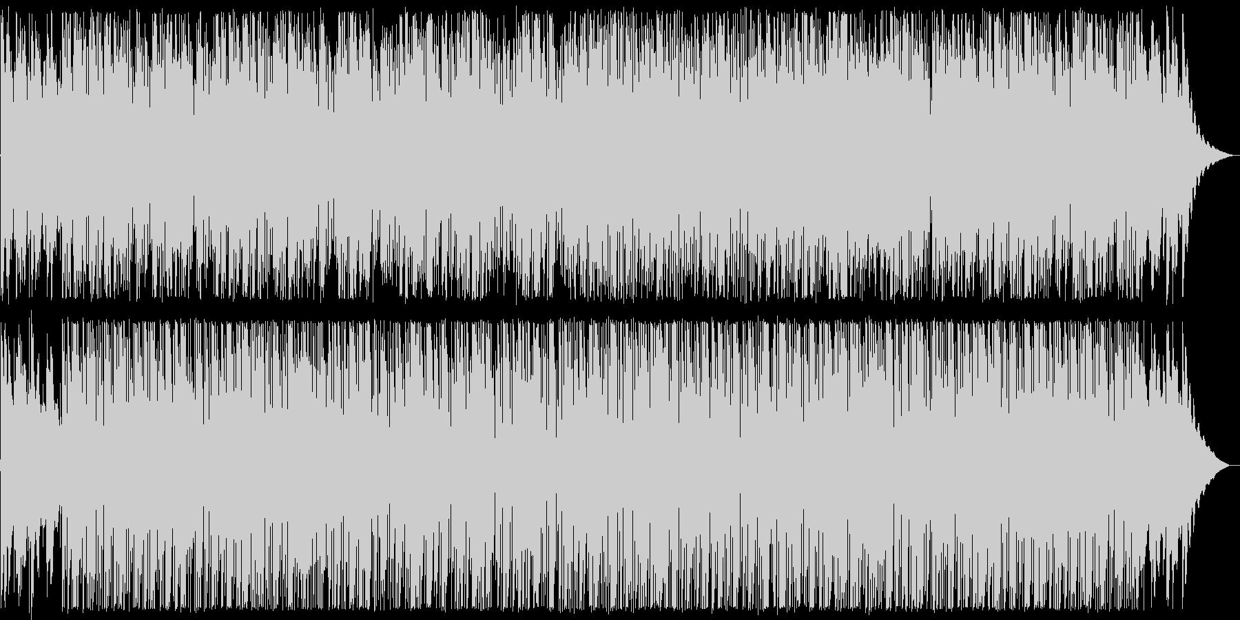 おしゃれなギターサウンドブルース系の未再生の波形