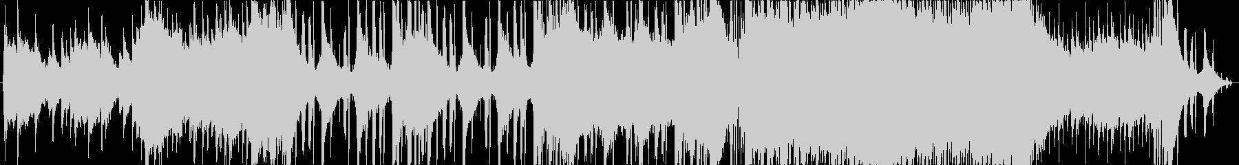 明るいピアノが特徴のJ-Popの未再生の波形