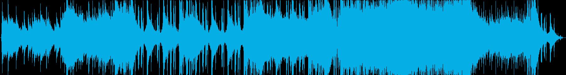 明るいピアノが特徴のJ-Popの再生済みの波形