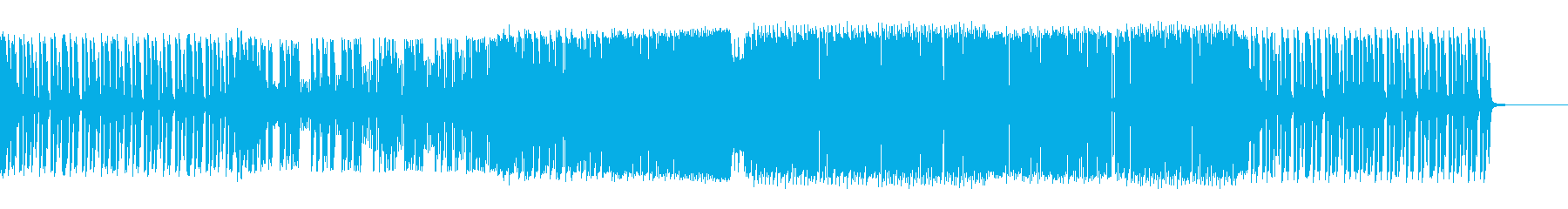 DJ Snakeを参考にしたトラップの再生済みの波形