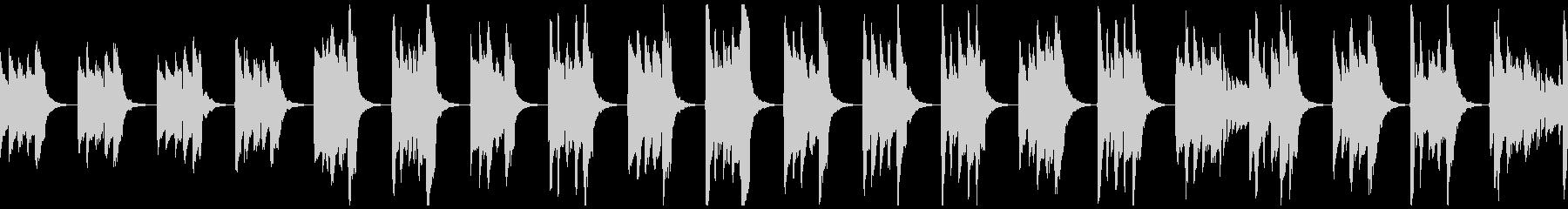 【ループ】中世風のギター:太古の森6の未再生の波形
