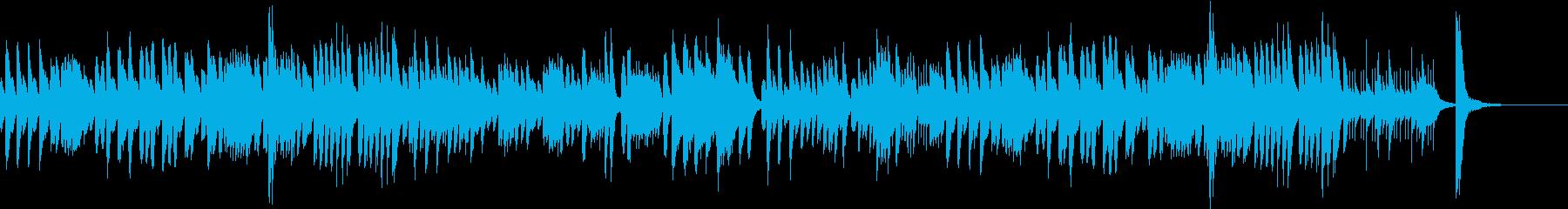 コミカルに展開する軽快なピアノソロの再生済みの波形