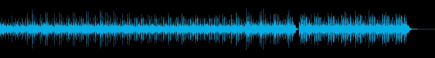 グロッケンとオカリナの可愛いポップスの再生済みの波形